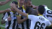 Wague vola in cielo e segna il goal vittoria dell'Udinese contro il Torino