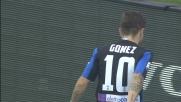 Gomez calcia fuori e non sfrutta il regalo del Carpi