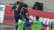 Toni segna il goal vittoria nel derby Chievo-Hellas a Verona
