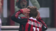 Huntelaar firma il goal del 3-1 del Milan sull'Udinese