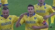Ciofani porta il Frosinone avanti di due goal sul Verona