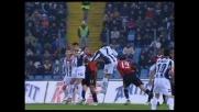 Quagliarella alza la mira e manca il goal contro il Milan