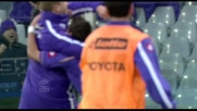 Il goal di Gilardino regala il successo alla Fiorentina