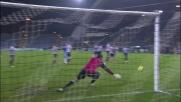 Lodi, punizione perfetta e goal del vantaggio del Catania contro l'Udinese