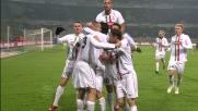 Chiellini porta in vantaggio la Juventus contro la Lazio