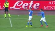 Il goal di Milik apre le marcature tra Napoli e Milan