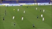 Contro la Fiorentina Candreva prova la magia col tacco ma il suo tiro esce di pochissimo