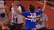 Pazzini-goal: si avventa come un falco nell'area dell'Udinese e realizza