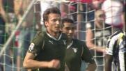 Kozak appoggia in goal e accorcia le distanze contro l'Udinese