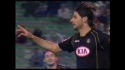 Con un goal su rigore Iaquinta porta avanti l'Udinese contro la Lazio