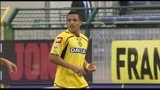 Sanchez di testa porta avanti l'Udinese al Sant'Elia