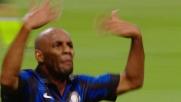 Maicon, goal di potenza contro la Juventus