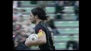 Udinese-Siena sull'1-1: Iaquinta segna il goal su rigore