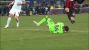 Kaka solo davanti a Muslera, ma la Lazio si salva