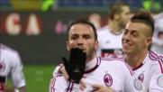 Pazzini, goal da infortunato contro il Genoa