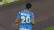 Dzemaili corregge in goal la respinta di Brkic
