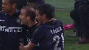 Palacio porta in vantaggio l'Inter al Friuli con una girata di testa