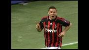 Doppio passo e goal di Ronaldo che apre le marcature per il Milan contro l'Empoli