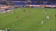 Cissè, il palo gli nega il goal dell'anno nel derby contro la Roma