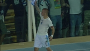Goal da fuori area di Weiss che non lascia scampo al Palermo