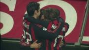 Pato sblocca il match di San Siro fra Milan e Udinese con un goal di testa