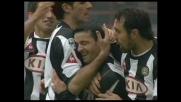Il goal di Di Natale sorprende il Milan, che prodezza per l'Udinese