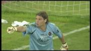 Ranocchia manca la deviazione per il goal, Marchetti compie il miracolo