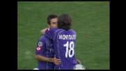 Mutu cala il poker: la Fiorentina annienta il Messina