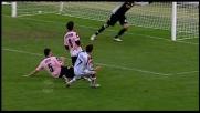 Conclusione larga, che errore di Cossu a Palermo