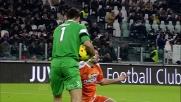 Allo Juventus Stadium Brkic para il tiro di Tevez dal limite