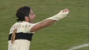 Lucarelli, maglia strappata durante Parma-Cagliari