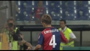 Criscito in goal con un gran destro al Marassi contro la Roma