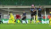 Punizione vincente di Birsa nella sfida con la Lazio