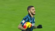 Icardi, goal fulmineo a San Siro contro la Lazio