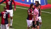 Budan svetta sulla difesa del Genoa ma la traversa gli nega il goal