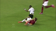 De Rossi: tackle in grande stile per fermare Badu!