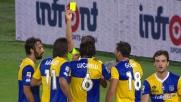 Il tackle di Pedro Mendes causa il rigore contro l'Udinese: il Parma protesta