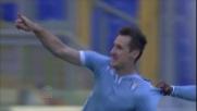 Klose in area non perdona: stop e goal per riportare in vantaggio la Lazio