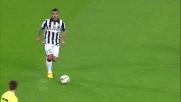 Tevez se ne va in tunnel contro la Lazio