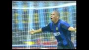 Ronaldo sfrutta l'uscita errata di Flavio Roma e segna al Piacenza