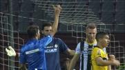 Widmer atterra Josè Mauri nell'area dell'Udinese provocando un rigore a favore del Parma
