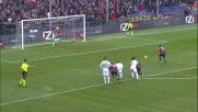 Goal di Gilardino dagli 11 metri in Genoa-Sassuolo