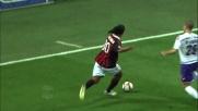 Ronaldinho con le sue finte fa ammattire De Silvestri