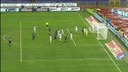 Muslera d'istinto respinge il tiro di Cordoba in Lazio-Inter