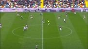 Thereau conclude fuori una bella azione dell'Udinese contro il Bologna