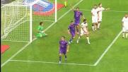 Jovetic riporta in vantaggio la Fiorentina contro il Cagliari