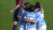 Il goal di Keita Balde porta in vantaggio la Lazio contro il Cagliari
