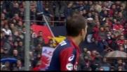 Zapater sfiora il goal in Genoa-Livorno: palla fuori