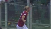Con un gran mancino Balzaretti inventa il goal che decide il derby di Roma