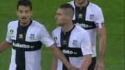 Rosi espulso per proteste nel match tra Parma e Lazio